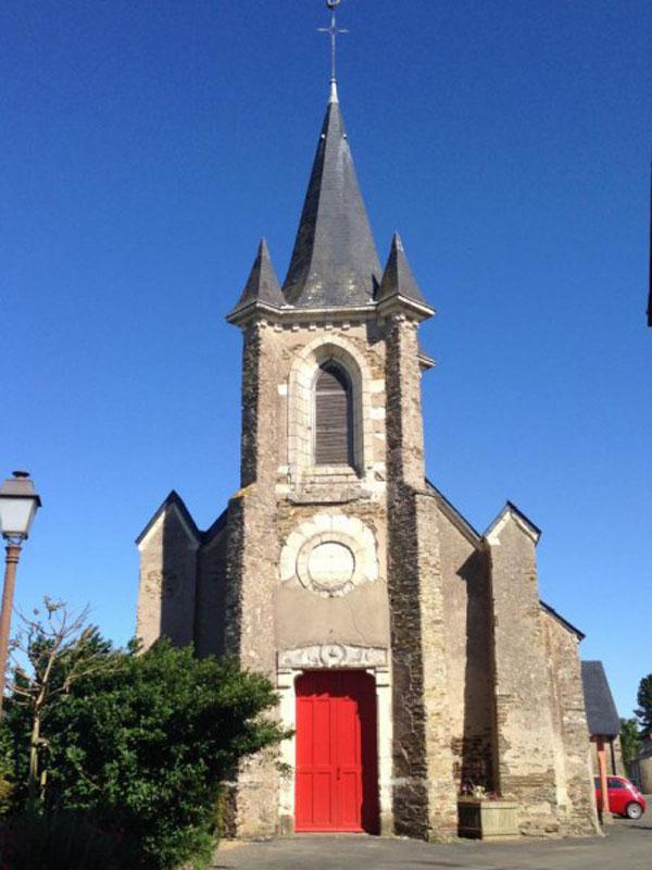 pruille – eglise saint symphorien (c) lea